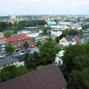 Blick auf Wandsbeker Marktstraße Richtung Nordosten - Fotos-Schmiede