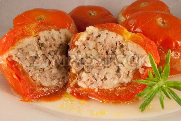 Gefüllte Tomaten Detail - Fotos-Schmiede