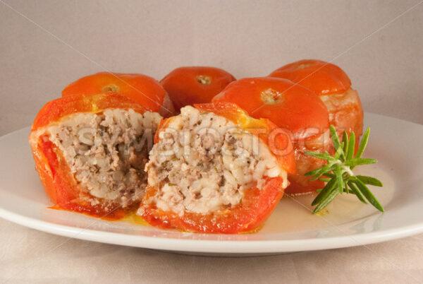 Gefüllte Tomaten Frontal - Fotos-Schmiede