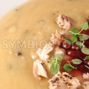 Kartoffelsuppe Detail - Fotos-Schmiede