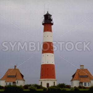 Leuchtturm Westerheversand bei St. Peter-Ording in Nordfriesland - Fotos-Schmiede