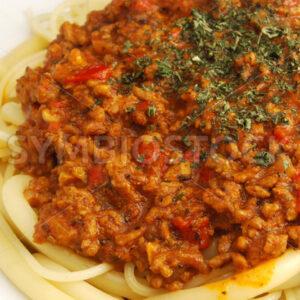 Spaghetti Bolognaise Detail - Fotos-Schmiede