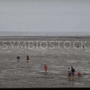 Strand bei Ebbe bei Büsum in Dithmarschen - Fotos-Schmiede