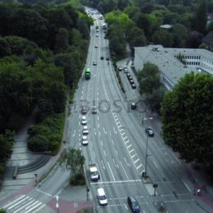 Kreuzung Schloßstraße/Ring 2 Richtung Robert-Schuhmann-Brücke - Fotos-Schmiede